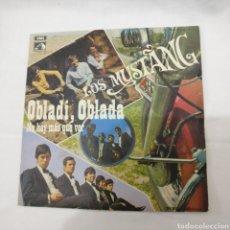 Discos de vinilo: LOS MUSTANG - OBLADI, OBLADA. Lote 177982008