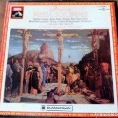 Discos de vinilo: CAJA 2 LP LA VOZ DE SU AMO - MISSA SOLEMNIS - BEETHOVEN. Lote 177982767