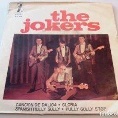 Discos de vinilo: THE JOKERS / CANCION DE DALIDA + 3 / EP 7 INCH. Lote 177983674