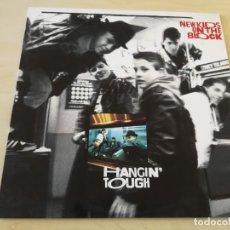 Discos de vinilo: DISCO VINILO LP NEW KIDS ON THE BLOCK HANGIN TOUGH. Lote 177983834