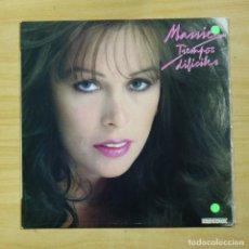 Discos de vinilo: MASSIEL - TIEMPOS DIFICILES - LP. Lote 177988425
