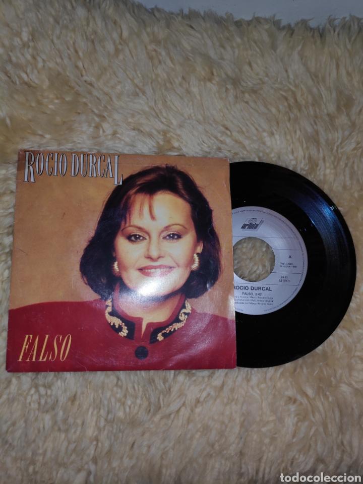 Discos de vinilo: Rocío Dúrcal - Falso - Single vinilo - Foto 2 - 177990284