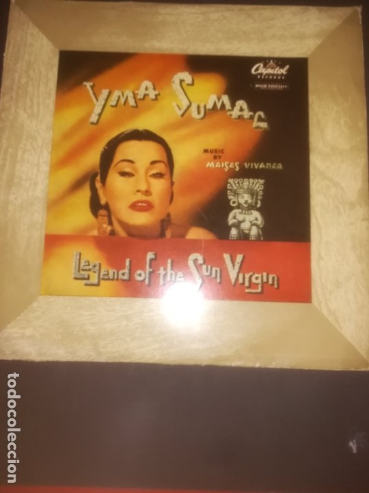 YMA SUMAC MOISES VIVANCO LEGEND OF THE SUN VIRGIN ANTIGUO LP 10 PULG 25CM RARO (Música - Discos - LP Vinilo - Otros estilos)