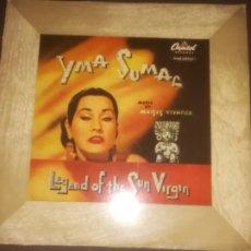 Discos de vinilo: YMA SUMAC MOISES VIVANCO LEGEND OF THE SUN VIRGIN ANTIGUO LP 10 PULG 25CM RARO . Lote 178004147