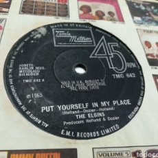 Discos de vinilo: THE ELGINS SINGLE PUT YOURSELF IN MY PLACE U.K. 1965. Lote 178006083
