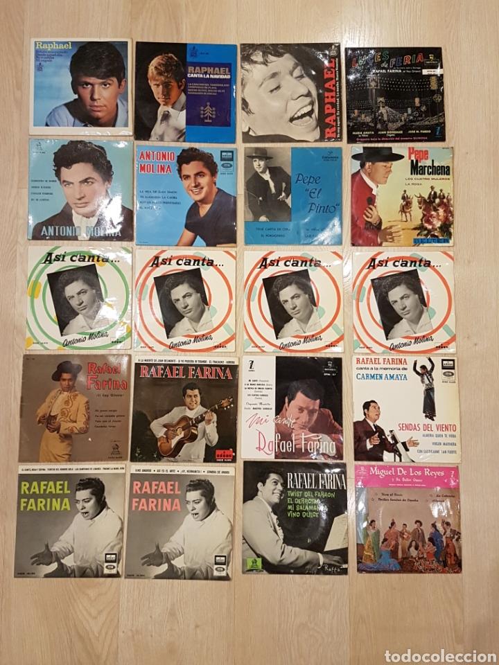 Discos de vinilo: LOTE 90 VINILOS EP + 4 ALBUMS. GRANDES ARTISTAS AÑOS 60 E INFANTILES - Foto 4 - 178006172