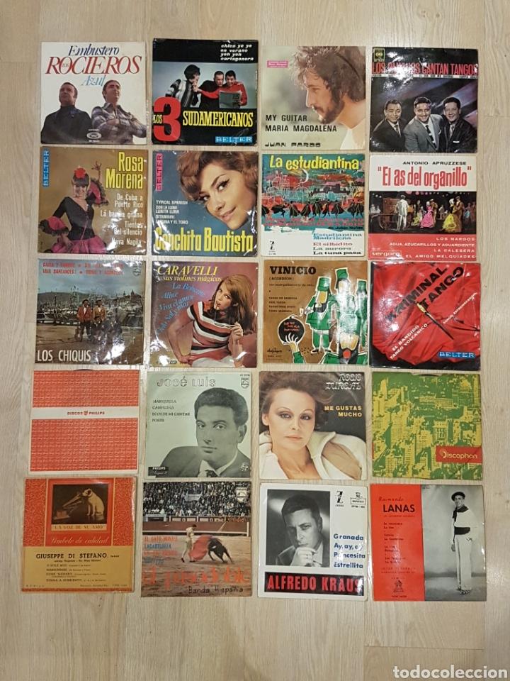 Discos de vinilo: LOTE 90 VINILOS EP + 4 ALBUMS. GRANDES ARTISTAS AÑOS 60 E INFANTILES - Foto 5 - 178006172