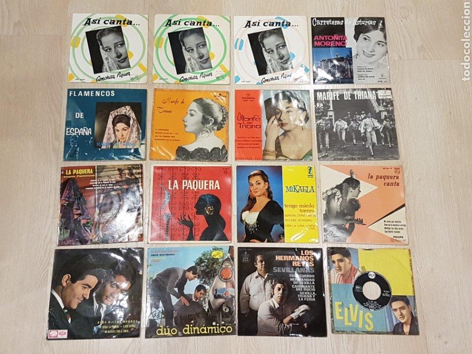 Discos de vinilo: LOTE 90 VINILOS EP + 4 ALBUMS. GRANDES ARTISTAS AÑOS 60 E INFANTILES - Foto 7 - 178006172