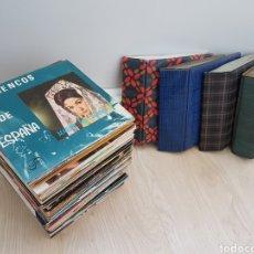 Discos de vinilo: LOTE 90 VINILOS EP + 4 ALBUMS. GRANDES ARTISTAS AÑOS 60 E INFANTILES. Lote 178006172