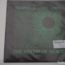 Discos de vinilo: SINGLE - TEMPLE OF LOVE 1992 / THE SISTERS OF MERCY. Lote 178008129