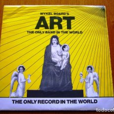 Discos de vinilo: ART - THE ONLY BAND IN THE WORLD (THE ONLY LABEL IN THE WORLD EP001 - USA 1980) PUNK EP. Lote 178021603