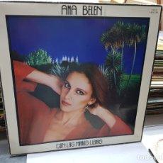 Discos de vinilo: LP-ANA BELÉN-CON LAS MANOS LLENAS EN FUNDA ORIGINAL AÑO 1980. Lote 178027779