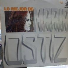 Discos de vinilo: LP-MARIA OSTIZ-LO MEJOR DE MARIA OSTIZ EN FUNDA ORIGINAL AÑO 1973. Lote 178028805