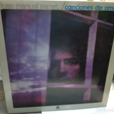 Discos de vinilo: LP-JOAN MANUEL SERRAT -CANCIONES DE AMOR EN FUNDA ORIGINAL AÑO 1976. Lote 178030382