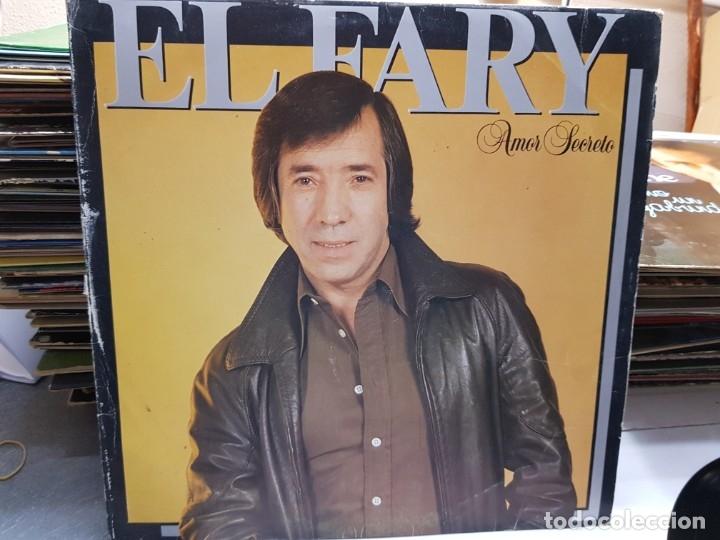 LP-EL FARY-AMOR SECRETO EN FUNDA ORIGINAL AÑO 1983 (Música - Discos - LP Vinilo - Solistas Españoles de los 70 a la actualidad)