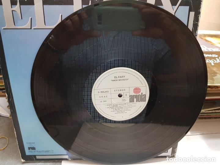 Discos de vinilo: LP-EL FARY-AMOR SECRETO en funda original año 1983 - Foto 3 - 178032300
