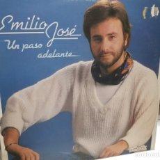 Discos de vinilo: LP-EMILIO JOSE-UN PASO ADELANTE EN FUNDA ORIGINAL AÑO 1983. Lote 178033152