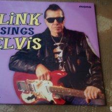 Discos de vinilo: LINK SINGS ELVIS. VINILO ACE. PRECINTADO. 10 PULGADAS.. Lote 178035682