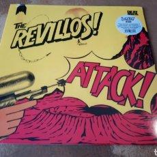 Discos de vinilo: THE REVILLOS - ATTACK!. LP VINILO PRECINTADO. Lote 178036349