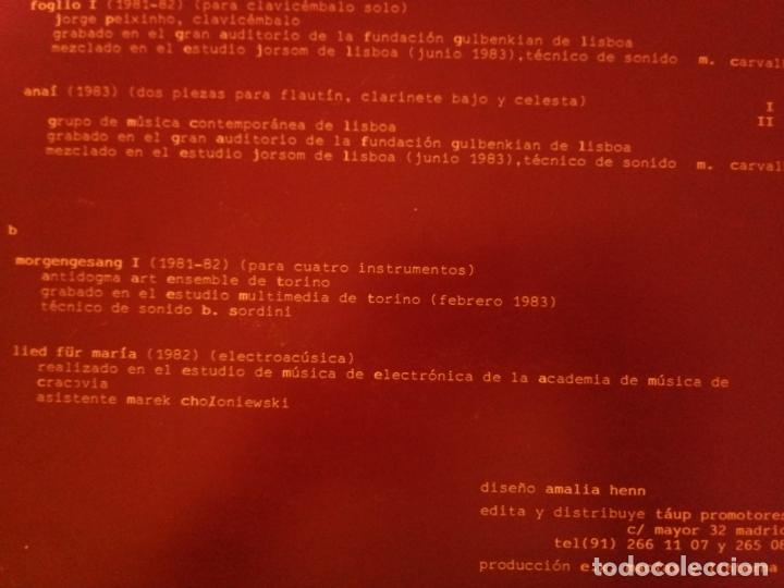 Discos de vinilo: P - ENRIQUE X. MACIAS - ENTRE LA NOCHE Y LA MAÑANA - Foto 3 - 178037985