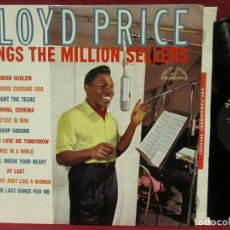 Discos de vinilo: LLOYD PRICE / SINGS THE MILLION SELLERS 1961 !! SOUL..R&B / ORIG. EDIT USA !! COLLECTORS !! EX. Lote 178038498
