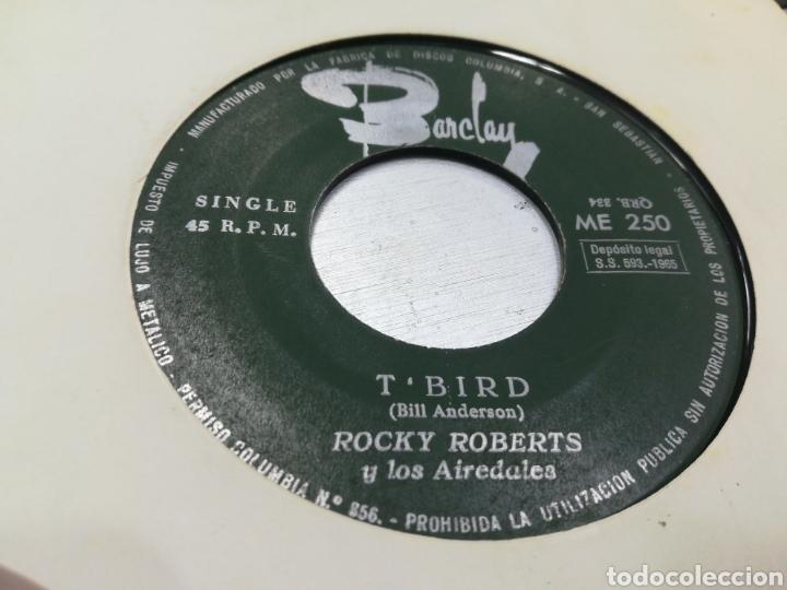 ROCKY ROBERTS SINGLE T'BIRD ESPAÑA 1965 ESCUCHADO (Música - Discos - Singles Vinilo - Funk, Soul y Black Music)
