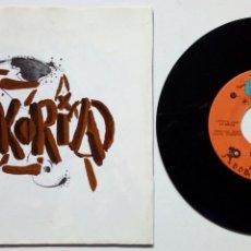 Discos de vinilo: EP: ESKORIA TZA - DEMOKRAZIA + SODOMIA + AZKEN GERRA + NEUROSIA + 2 (BASATI DISKAK, 88) PUNK ROCK HC. Lote 178045229