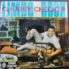 Discos de vinilo: CHUBBY CHECKER, LIMBO ROCK, MARY ANN LIMBO, POPEYE, LA LA LIMBO. Lote 178045619