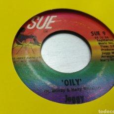 Discos de vinilo: JUGGY SINGLE OILY / THE SPOILER U.S.A. 1969 ESCUCHADO. Lote 178045689
