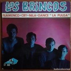 Discos de vinilo: LOS BRINCOS - EP EDICION FRANCESA -1965 RARO -GARAGE BEAT. Lote 178046629