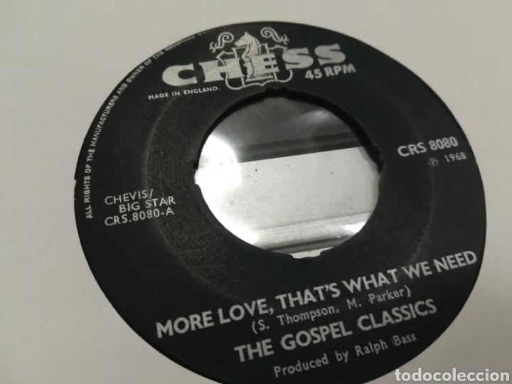THE GOSPEL CLASSICS SINGLE MORE LOVE, THAT'S WHAT WE NEED U.K. 1968 (Música - Discos - Singles Vinilo - Funk, Soul y Black Music)