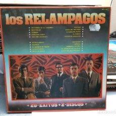 Dischi in vinile: DOBLE LP-LOS RELAMPAGOS-20 EXITOS EN FUNDA ORIGINAL 1981. Lote 178049575