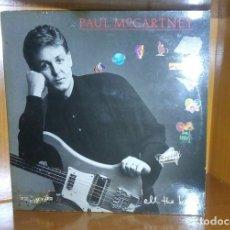 Discos de vinilo: PAUL MCCARTNEY - ALL THE BEST - DOBLE LP - CARPETA DOBLE - 1987. Lote 178050608