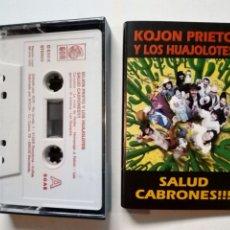 Discos de vinilo: KOJON PRIETO Y LOS HUAJOLOTES - SALUD CABRONES!!! (GOR, 1995) NAPAR-MEX PUNK. Lote 178052637
