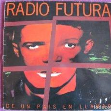 Discos de vinilo: LP - RADIO FUTURA - DE UN PAIS EN LLAMAS (SPAIN, ARIOLA RECORDS 1985, CONTIENE ENCARTE). Lote 178055212