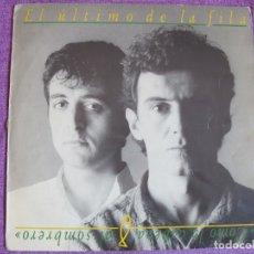 Discos de vinilo: LP - EL ULTIMO DE LA FILA - COMO LA CABEZA AL SOMBRERO (SPAIN, PDI RECORDS 1988). Lote 178055469