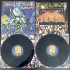 Discos de vinilo: IRON MAIDEN / LIVE AFTER DEATH 1985, 2LP, NWOBHM RARA EDIC USA + 2 ENCARTES INTERIOR, EXC. Lote 178062683