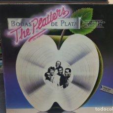 Discos de vinilo: LP-THE PLATTERS-BODAS DE PLATA EN FUNDA ORIGINAL AÑO 1981. Lote 178064948