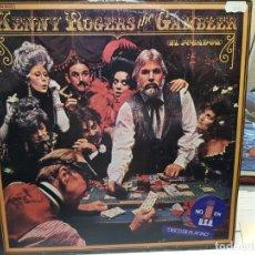 Discos de vinilo: LP-KENNY ROGERS-THE GAMBLER EN FUNDA ORIGINAL AÑO 1979. Lote 178067019