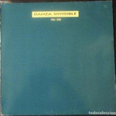 Discos de vinilo: DANZA INVISIBLE. 1984 - 1989. TWINS 4T-0568, ESPAÑA, 1998.. Lote 178071577