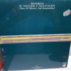 Discos de vinilo: LP-THE ALAN PARSONS PROJECT-TALES OF MYSTERY AND IMAGINATION EN FUNDA ORIGINAL AÑO 1976. Lote 178076943