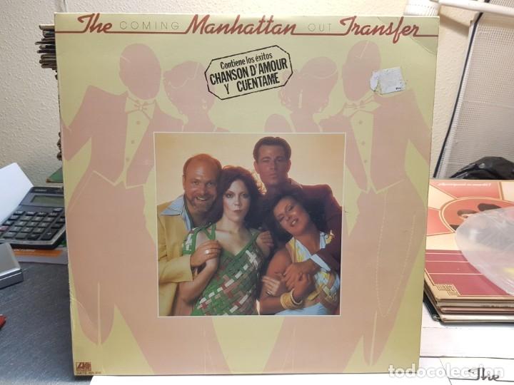 LP-THE MANHATTAN TRANSFER -COMING OUT EN FUNDA ORIGINAL AÑO 1976 (Música - Discos - LP Vinilo - Pop - Rock - New Wave Extranjero de los 80)