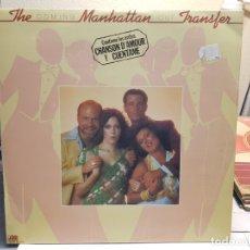 Discos de vinilo: LP-THE MANHATTAN TRANSFER -COMING OUT EN FUNDA ORIGINAL AÑO 1976. Lote 178077775