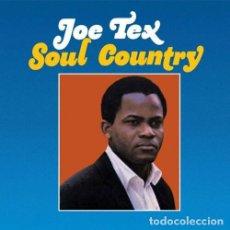 Discos de vinilo: JOE TEX SOUL COUNTRY LP . WILSON PICKETT SOLOMON BURKE SAM COOKE SAM DAVE. Lote 178078730