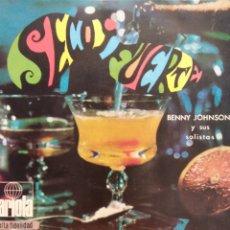 Discos de vinilo: SECO Y FUERTE. BENNY JOHNSON Y SUS SOLISTAS. ARIOLA. Lote 178081575