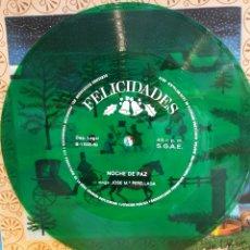 Discos de vinilo: FELICIDADES. NOCHE DE PAZ. DAF. Lote 178083709