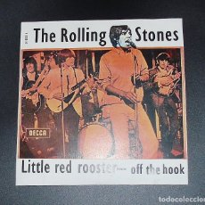 Discos de vinilo: THE ROLLING STONES -- LITTLE RED ROOSTER & OFF THE HOOK --- MADE U.K. AÑO 1973. Lote 178085465
