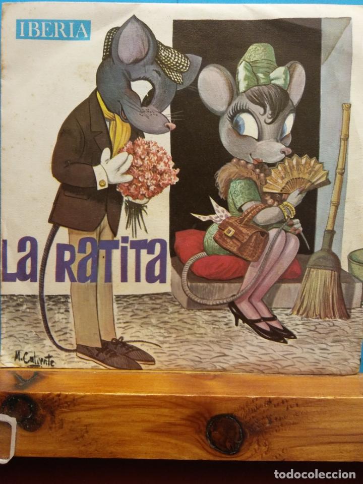 LA RATITA. IBERIA (Música - Discos - Singles Vinilo - Música Infantil)