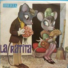 Discos de vinilo: LA RATITA. IBERIA. Lote 178085630