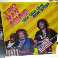 Discos de vinilo: LP-TWO MAN SOUND-CHA CHA CHA NON STOP EN FUNDA ORIGINAL AÑO 1980. Lote 178090245